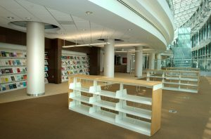 library as meeting place
