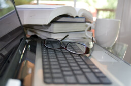 bookkeeper desk