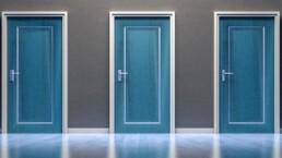 three doors